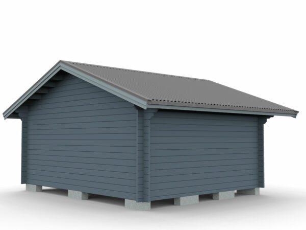Attefallstuga 20 m² med ett rum