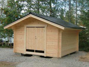 Förråd 15 m² med pardörr 1590x1890 mm