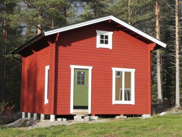 Loftstuga 25 m² med modifierad planlösning